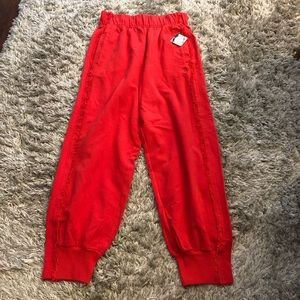 Free People Movement Victory Red Sweatpants